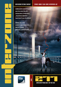 Cover for Interzone, issue 277